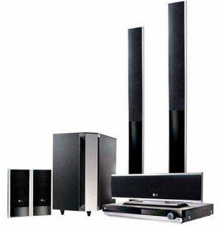 LG LH T 760 PA Heimkino System (DVD Player, 5.1 Lautsprecher System