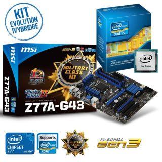 Kit Evo Ganju Ivybridge   Contient  Intel® Core™ i5 3450 IvyBridge
