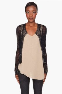 Haute Hippie Beaded Crochet Cardigan for women