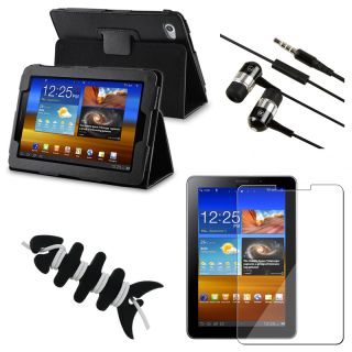 Case/ LCD Protector/ Headset/ Wrap for Samsung Galaxy Tab 7.7 inch