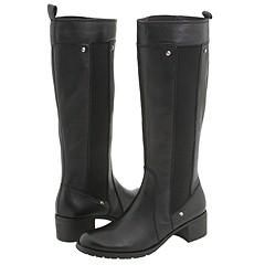 Kenneth Cole Reaction Guess Whos Pack Black Leather Boots
