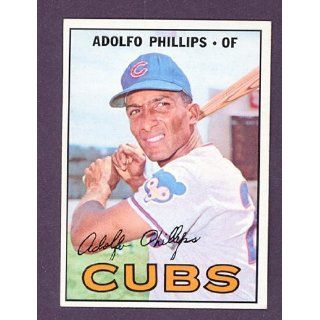 1967 Topps #148 Adolfo Phillips Cubs (NM/MT) Collectibles
