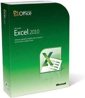 Microsoft Excel Home and Student 2010: Software