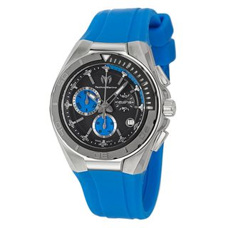 TechnoMarine Mens Cruise Steel Stainless Steel Blue Swiss Quartz