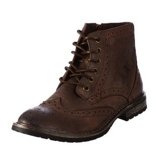 Steve Madden Mens Mansel Brown Boots
