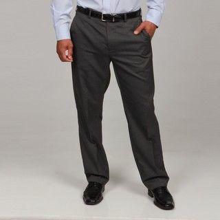 Britches By Samtex Mens Charcoal Stripe Dress Pants