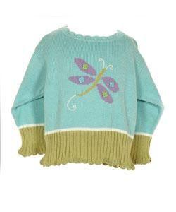 Mulberribush Butterfly Girls Sweater