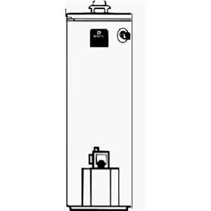 Reliance Water Heater CO HR6 50 YBRT N Maytag 50 Gallon Gas Water Heater