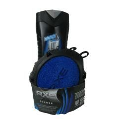 Axe Shower Gel with Shower Tool