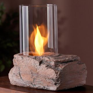 Real Flame Red Rock Personal Fireplace oday $68.99 4.0 (1 reviews