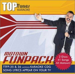 Top Tunes Karaoke CDG Motown Fun Pack TT FP35&36 Various
