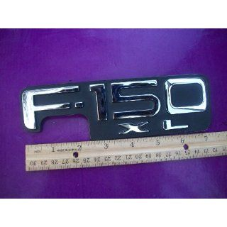 FORD F150 XL CHROME & BLACK LOGO NAMEPLATE EMBLEM BADGE