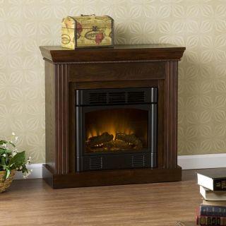 Tillman Espresso Petite Electric Fireplace