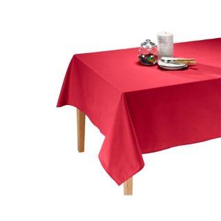 250 cm   Achat / Vente NAPPE DE TABLE Nappe Candy Rouge 150 x 250 cm
