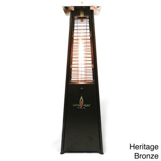 Lava Heat Italia Mini Lava Tabletop Z2 Patio Heater Compare $299.00