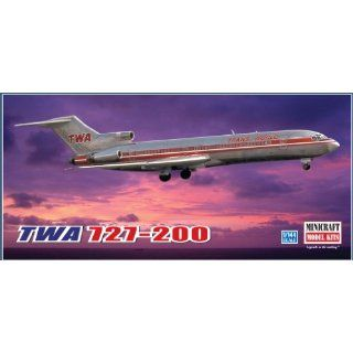 Models TWA 727 200 Project Skinny 1/144 Scale Toys & Games