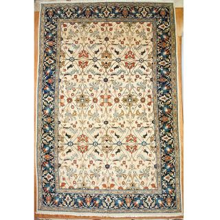 Persian Hand knotted Serapi Vegetable Dye Wool Rug (197 x 129