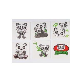 144 Panda Tattoos: Toys & Games