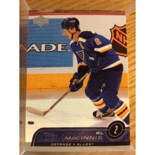 2002 03 Upper Deck #152 Al MacInnis: Collectibles