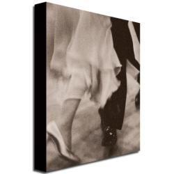 Beverly Brown Legs, Ballroom Dancing Couple Canvas Art