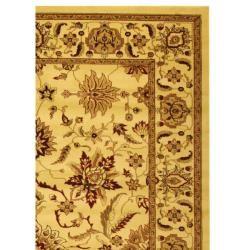 Lyndhurst Collection Heritage Ivory/ Ivory Rug (9 x 12)