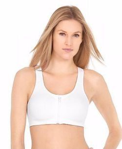 Champion Natural Contour Comfort Zip Sports Bra 152 Clothing