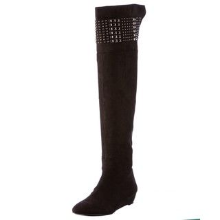 CARLOS by Carlos Santana Womens Original Black Knee high Boots