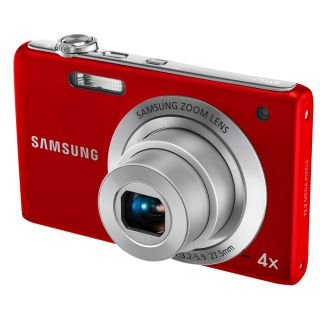 Samsung ST60 12MP Red Digital Camera Today $103.99
