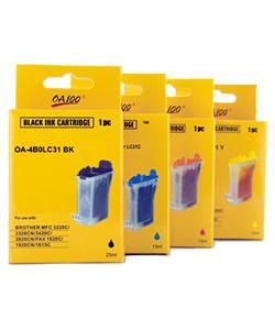 Ink Cartridge for Brother LC31 Combo (Pack of 4)