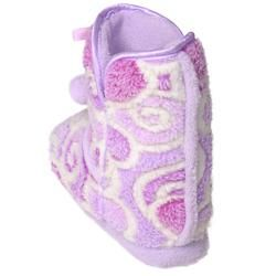 Journee Collection Kids Girls Christian Heart Pattern Toggle