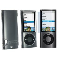 Clear Protector Case/ Screen Protector for Apple iPod Nano 5th
