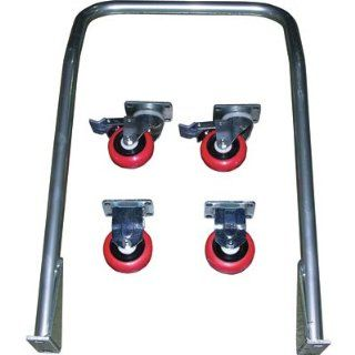 Vestil Caster and Handle Kit for Foot Pump Scissor Tables, Model