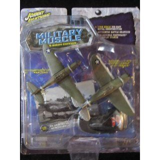 Mustang Planes 1:144, Military Muscle Warbirds Edition, Bonus Card