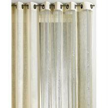 Panneau organza Lina 140 x 260 cm   Gris   Ce rideau pièce phare de