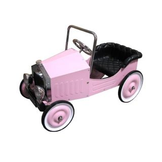 Classic Voiture Pink Pedal Car