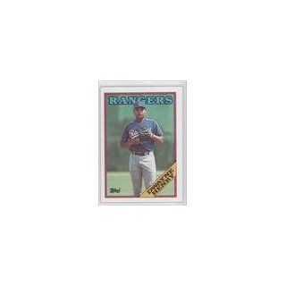Henry Texas Rangers (Baseball Card) 1988 Topps #178 Collectibles