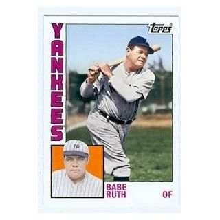 Babe Ruth baseball card (New York Yankees) 2012 Topps Archives #189
