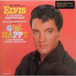 Happy  REMASTERED 180 Gram Audiophile Vinyl LP Elvis Presley Music