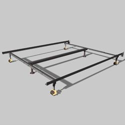 Uni Matic Universal Metal Bed Frame