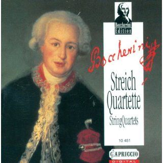 Boccherini, L. String Quartets   G. 177, 194, 213, 248