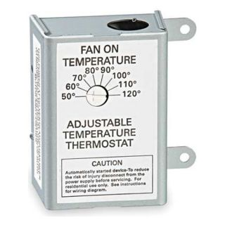 Air Vent 58070 Thermostat, Attic Fan Control, 120 Volt
