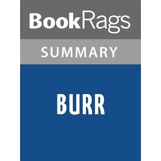 Burr by Gore Vidal  Summary & Study Guide BookRags