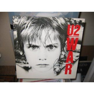 Bono * signed War album cover / UACC RD # 212 bono Collectibles
