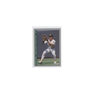 Eric Fox Oakland Athletics (Baseball Card) 1993 Fleer #663