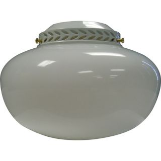 One Light White/ Polished Brass Ceiling Fan Light Kit Today $17.99 4