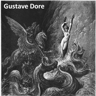 230 Color Paintings and Engravings of Gustave Dore (Doré)   French