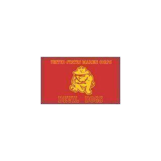 United States Marine Corps Devil Dogs FLAG 3ft x 5ft