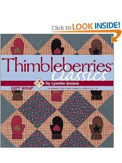 Thimbleberries Classics Gift Wrap (Winning quilt patterns as gift wrap