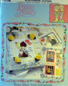 Precious Moments, Love One Another, Scrapbook Papers