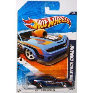 Exclusive HW Drag Racers 10 Pro Stock Camaro Blue #121/244